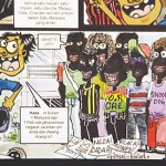 Condemn discriminatory cartoon in the comic booklet