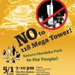 NGOs launch 'Say No to 118 Mega Tower' campaign