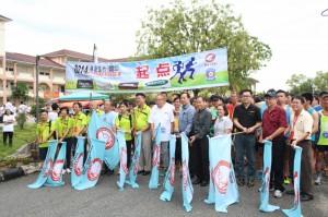 2014林连玉行霹雳站划下句点,深斋中学大力协助筹获逾12万