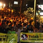 100 march to oppose Warisan Merdeka tower
